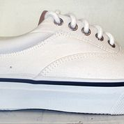 Sperry Top-Sider Striper Mens White