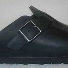Boston Black Natural Leather