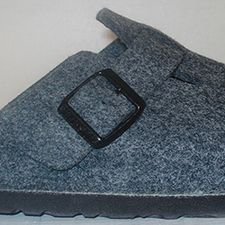 Boston Grey Felt