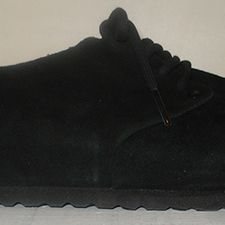 Main Black Suede